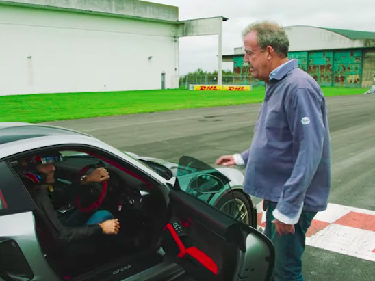 Mark Webber Auditions to be The Grand Tour's New Driver