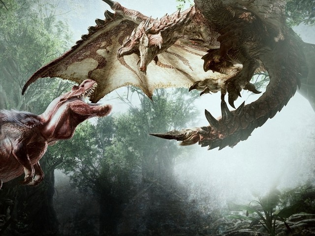 Here's our first stolen look at the Monster Hunter movie