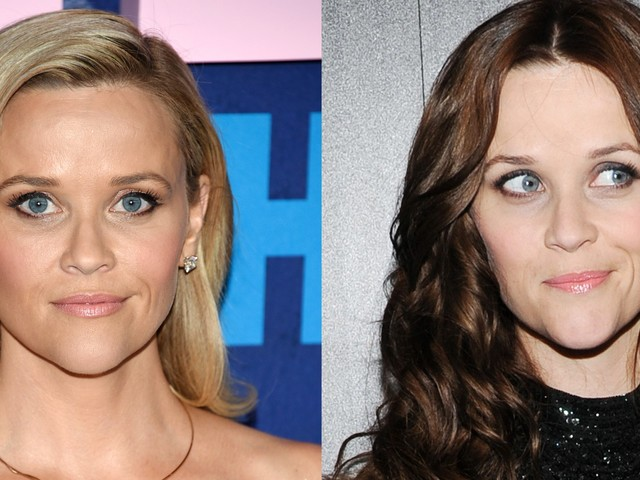 15 famous blondes who looked unrecognizable after going brunette