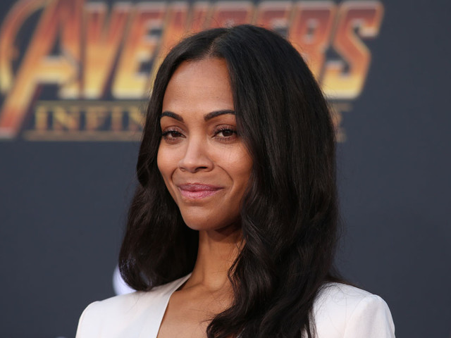 Zoe Saldana in Givenchy at the 'Infinity War' premiere: silly or fashionable?