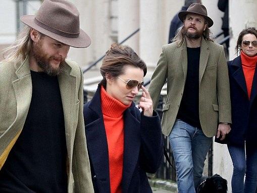 Kara Tointon and Dr Marius Jensen enjoy stroll in London
