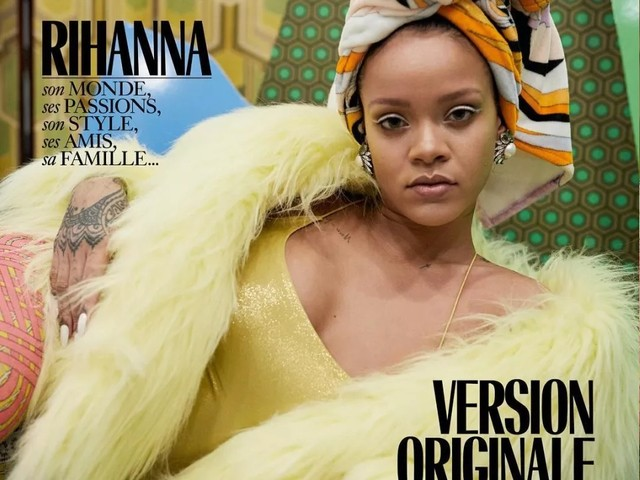 Rihanna scored three covers for Vogue Paris's December issue, pick your fave