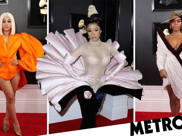 All the hottest looks from the Grammys 2019