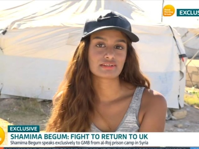 Shamima Begum says she wasn't a terrorist and 'she'd rather die than go back to ISIS'