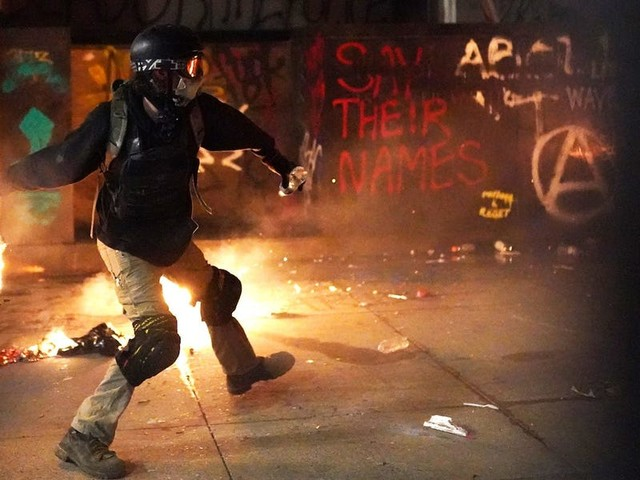 Stop making excuses for the 'protesters' that act like bad cops