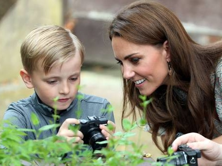 You have a real talent, Kate tells budding photographers