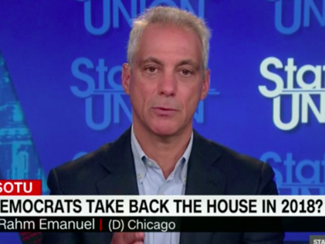 Chicago Mayor Rahm Emanuel Casts Doubt On Democratic Sweep In 2018