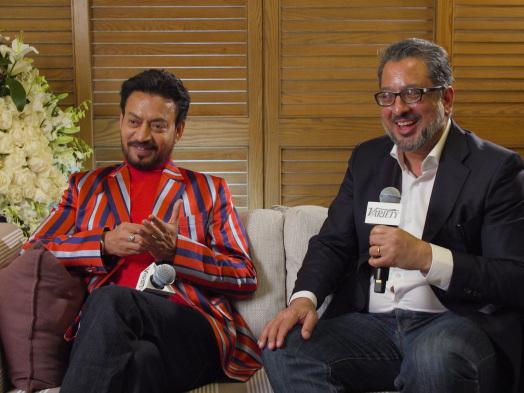 Irrfan Khan, Anup Singh Talk 'Lasya,' 'Scorpions'