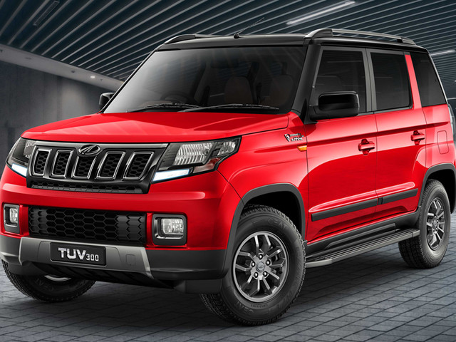 Mahindra TUV300 facelift launched at Rs 8.38 lakh