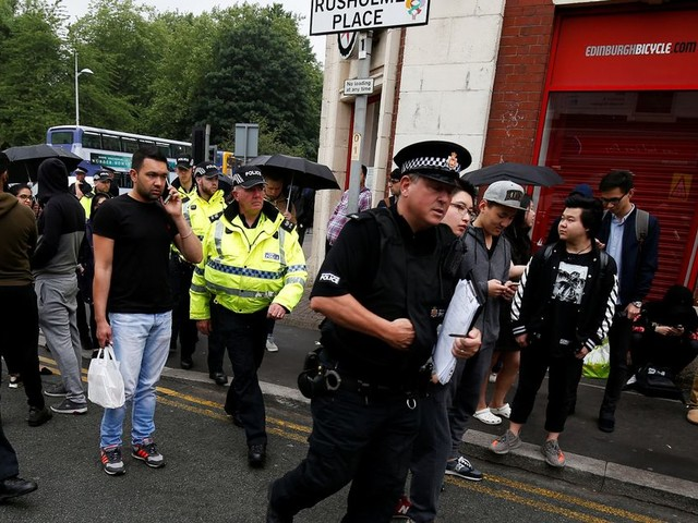 Car taken away Manchester terror attack investigation sees Curry Mile area on lockdown and hundreds evacuated