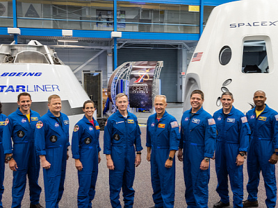These Are the Names of the SpaceX and Boeing Astronauts