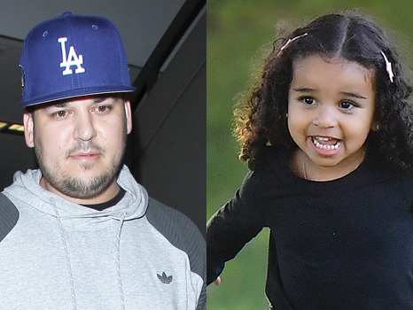 Rob Kardashian Says 'Night Night' To Daughter Dream, 3, As She Brushes Her Teeth In Cute New Pic