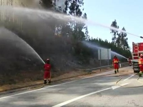 Over 2,000 firefighters sent to battle major blazes in Portugal