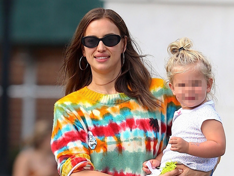 Irina Shayk Smiles With Daughter, 2, After Reaching Custody Agreement With Ex Bradley Cooper