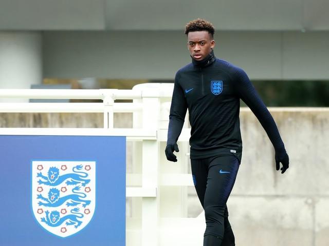 Southgate has no hesitation about picking, starting Hudson-Odoi for England