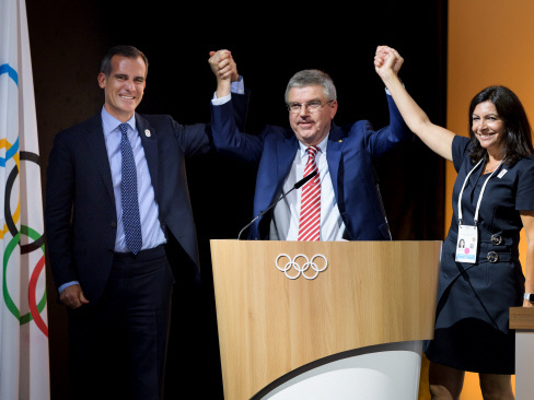 Paris, LA to host Summer Games