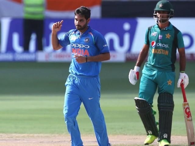 Bhuvneshwar, Jadhav's three-wicket hauls set up easy win for India