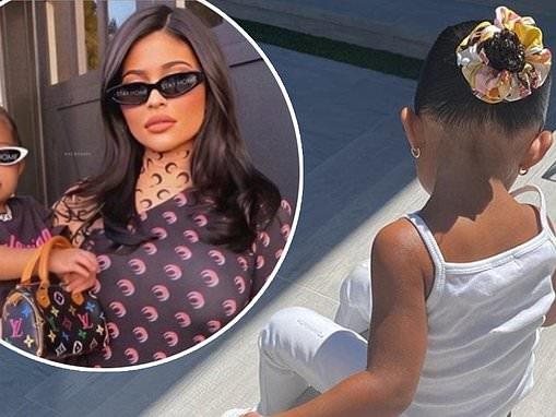 Kylie Jenner receives backlash for splurging on a Louis Vuitton bag for her daughter Stormi, 2
