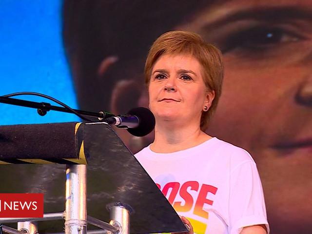 Nicola Sturgeon praises hate crime victim Blair Wilson