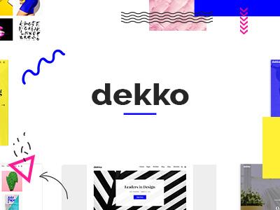 Dekko - A Vibrant Theme for Agencies and Freelancers (Portfolio)