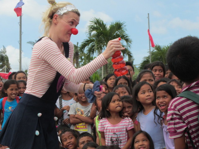 From Refugee Camps To War Zones, It's A Privilege To Bring Laughter To Children Struggling Around The World