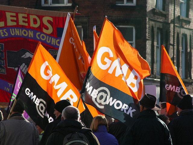 GMB union strikes deal for Hermes couriers