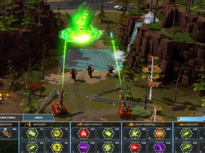 Petroglyph's RTS Forged Battalion is full of custom units