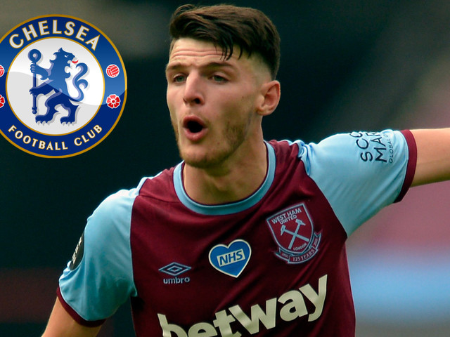 Chelsea told Declan Rice will cost more than £80m with West Ham reluctant to agree transfer for star man