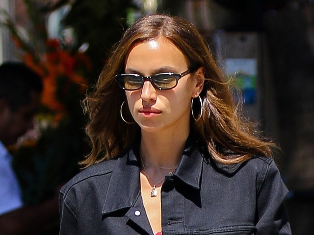 Irina Shayk Shows Off Her Toned Legs While Out in NYC!