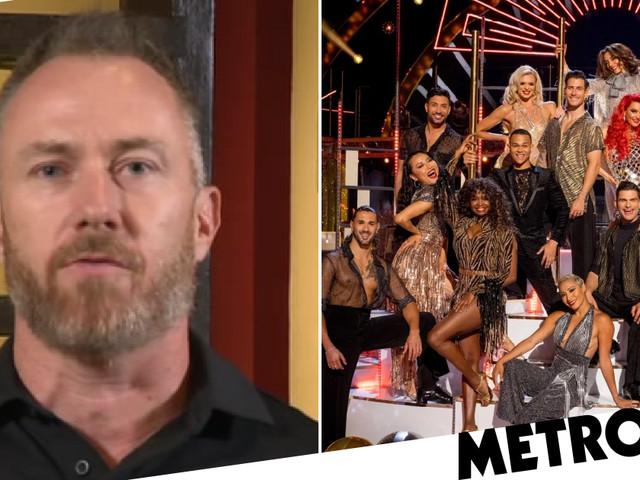Strictly Come Dancing's James Jordan declares three 'selfish' professional dancers 'rejecting vaccine' should quit