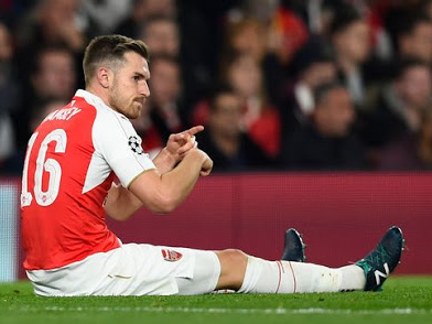 Aaron Ramsey pens emotional goodbye post to Arsenal fans on Twitter