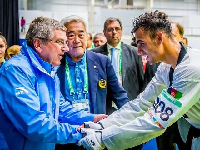 IOC President watches future taekwondo stars at Buenos Aires 2018