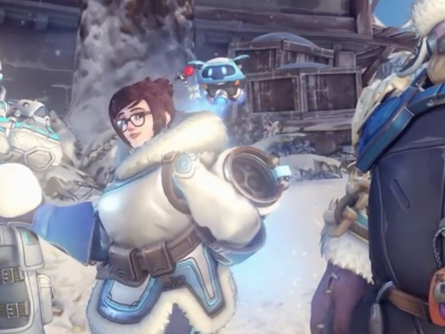 Here's a look at Overwatch's new Winter Wonderland event skins