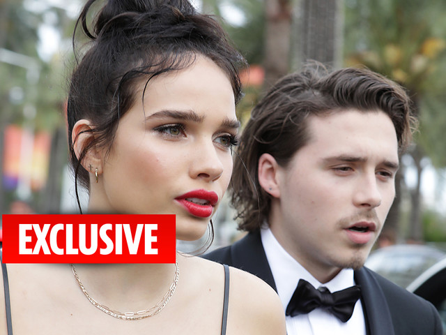 Brooklyn Beckham's girlfriend Hana Cross 'lashes out' at him as David and Victoria fret over tantrums