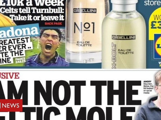 Scotland's papers: Celtic 'scapegoat' and killer carers