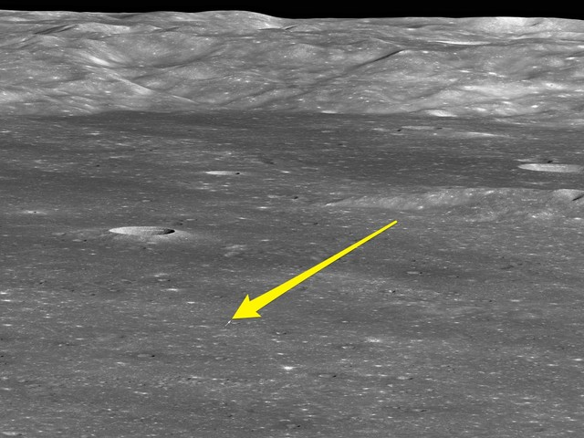 NASA's lunar satellite has photographed China's lander on the far side of the moon — here's the first image