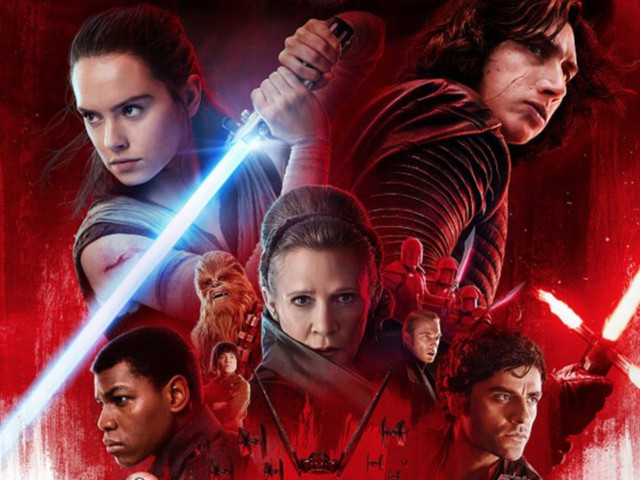 'Star Wars: The Last Jedi' Projected to Nab Second Highest Grossing Opening Weekend Ever