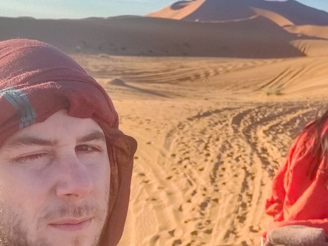 The most iconic desert in the world is the Sahara. I drove for days, rode a camel for hours, and slept under the stars just to see it.