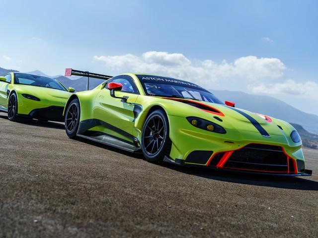 That Was Fast: Aston Martin Unveils Vantage GTE Racer
