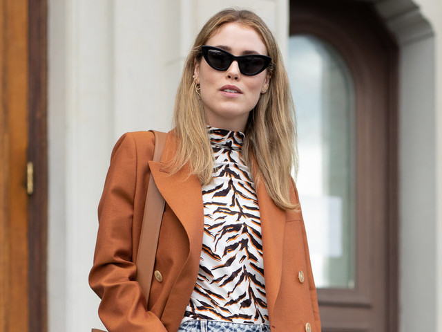 How To Wear Animal Print In Autumn 2018