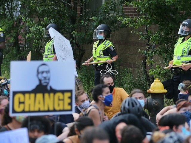 Leaked documents show how police used social media and private Slack channels to track George Floyd protesters
