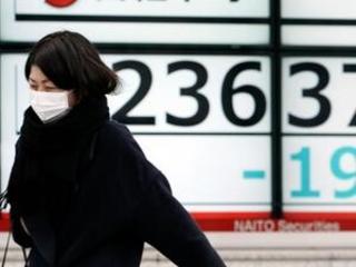 Stocks decline amid warnings China virus still a threat