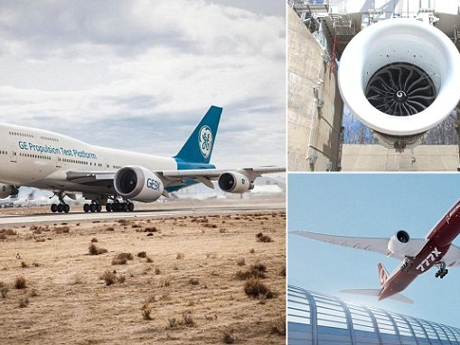 World's biggest jet engine GE9X takes to the skies on a Boeing 747