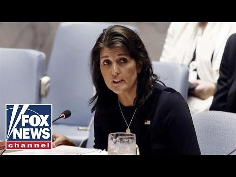 UN Ambassador Nikki Haley Resigns, Trump Accepts