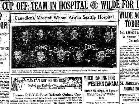 The story of the Stanley Cup that no one won