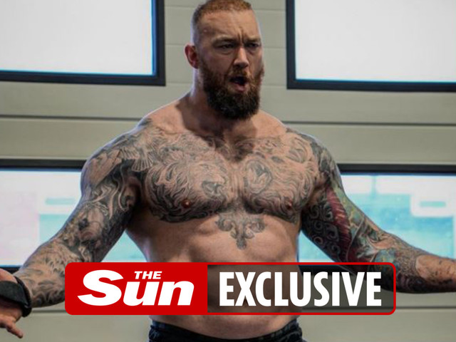 Hafthor Bjornsson keen on fighting Tyson Fury after Eddie Hall but admits he'd 'get his a** beaten'