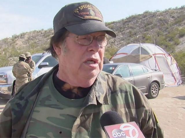 United Constitutional Patriots civilian border militia member Larry Mitchell Hopkins arrested