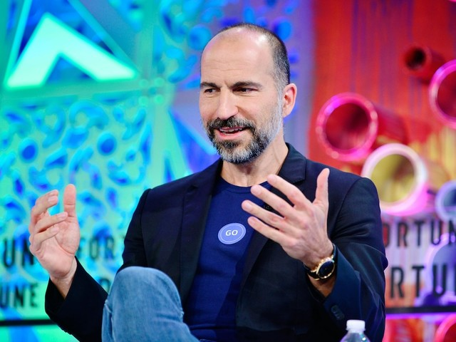 LIVE: Uber is set to begin trading in one of the largest US IPOs on record (UBER)