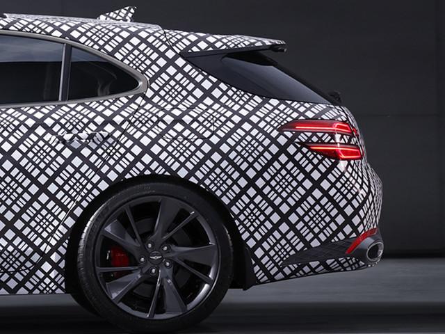 New Genesis luxury brand teases 2021 G70 Shooting Brake