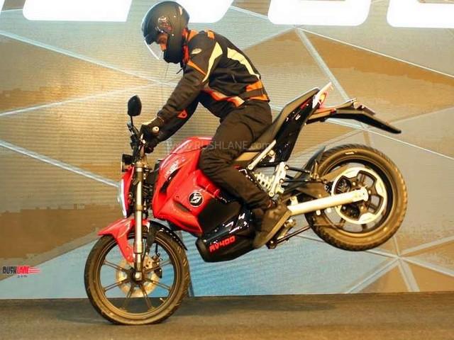 Revolt RV400 electric bike debuts in India – Price not revealed